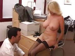 Busty mature secretary gets fucked in office movies at kilovideos.com