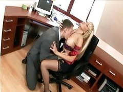 Secretary in thigh highs fucking at the office videos