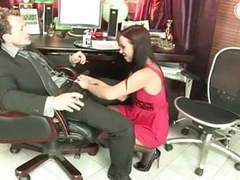 Russian secretary in fist fuck action at office videos