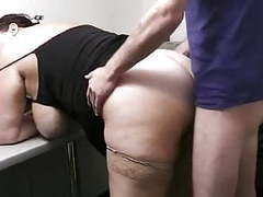 Chubby secretary fucks in her office movies at freekilomovies.com