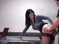 Hot secretary with glasses gets fucked videos