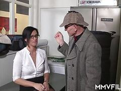 German anal cheating secretary tubes