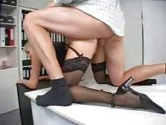 Blonde milf secretary movies at freekilomovies.com