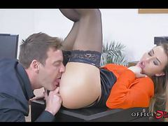 Fucking european babe in stockings during lunch hours movies at freekiloclips.com
