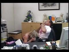 German secretary makes a splash in her bosses office movies at find-best-hardcore.com