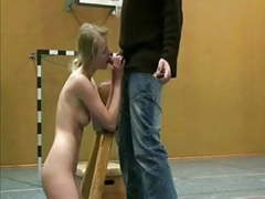 German amateurs fucking in soccer court movies at freekilomovies.com