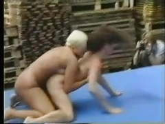 Naked lesbian skank wrestling pt1 movies at find-best-ass.com