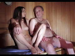 Hot sauna with not my dad movies at dailyadult.info