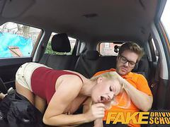 Fake driving school squirting orgasm busty milf takes creamp videos