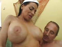 Harley rain - big boob squirting nurses tubes