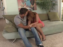 Top mature milf redhead in stockings fucks great videos