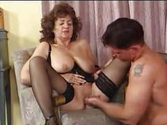 Granny in black stockings fucks movies at find-best-hardcore.com
