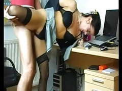 Horny hot slut fucking her lover at the office movies at find-best-hardcore.com