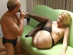 Femdom nylon foot worship arse lick human ashtray spit movies at find-best-pussy.com