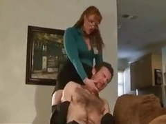 Brutal ball busting face slapping and strap on dominance movies at kilogirls.com