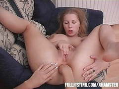 Hot lesbian anal fisting and strap-on action! movies at kilogirls.com