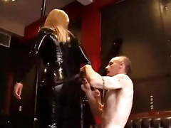Latex mistress fuck slave videos