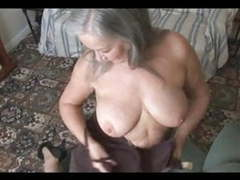 Attractive busty granny striptease movies at nastyadult.info