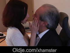 Old boss fuck his sexy young assistant in the office movies at nastyadult.info