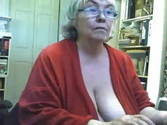 Fat saggy granny strips and masturbates on webcam movies at find-best-hardcore.com
