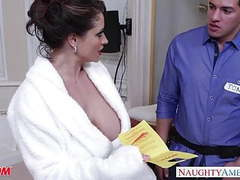 Horny mom eva notty gives titjob movies