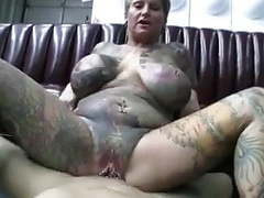 Totally tatoed and pierced milf (camaster) movies