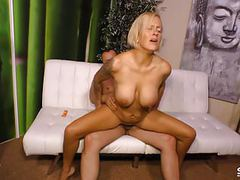 Sextape germany - busty blonde makes her first pov sex tape tubes