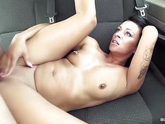 Bums bus - dirty german sex in the backseat of the car tubes