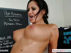 Teacher in glasses ava addams gets big tits fucked tubes