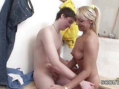 German beauty milf teacher fucks young boy after game movies at kilopills.com