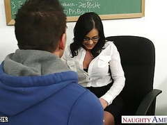 Brunette teacher kendra lust gets facialized movies at find-best-lingerie.com