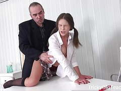 Tricky old teacher - sexy young girls are so lucky movies