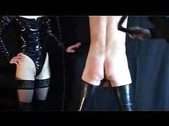 Two german mistress and her slave videos