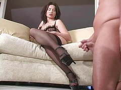 Mistress demands slave to cum on her heels movies at find-best-babes.com