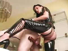 Mistress megan strap on action tubes