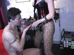 Mistress has huge strapon movies at kilovideos.com