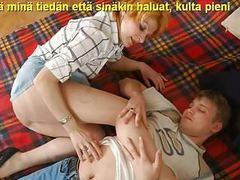 Slideshow with finnish captions: mom christina 2 videos