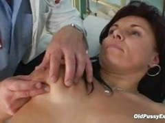 Livie gyno milf pussy speculum exam on gynochair movies at find-best-videos.com
