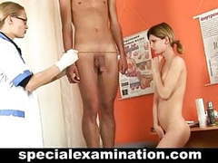 Young couple gets special medical exam videos