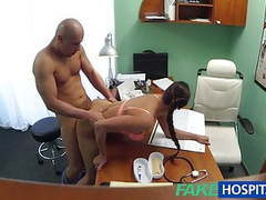 Fakehospital hot nurse prescribes fucking for muscle enhance tubes