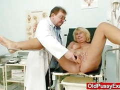 Hot busty granny tits and pussy gyno checkup videos