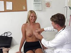 Nikky dream loves her horny doctor clip
