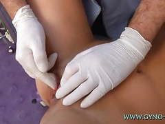 Rhianna gyno exam videos