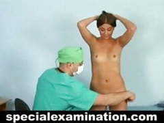 Brunette passed nude medical exam videos