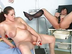 Two pregnant girls playing in gyno room movies at find-best-videos.com