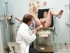 Ema gyno fetish teen pussy speculum examination by old doc videos