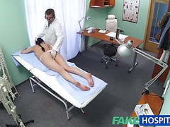 Fakehospital sexy patient likes it from behind with her new tubes