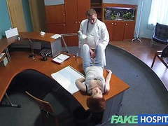 Fakehospital petite redheads sexual skills makes doctor cum videos