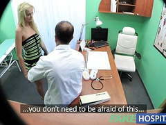 Fakehospital sexy suspicious doctors wife has hot sex videos