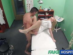 Fakehospital nurse eases pressure in studs balls movies at find-best-panties.com